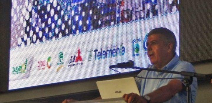ראש עיריית אופקים, איציק דנינו, בכנס הקוגנרציה הראשון באופקים