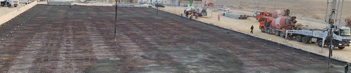הקמת מבנה ייצור, אחסנה והפצה בגודל 12,000 מ